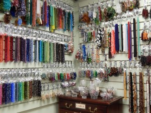 Thousands of beads in stock
